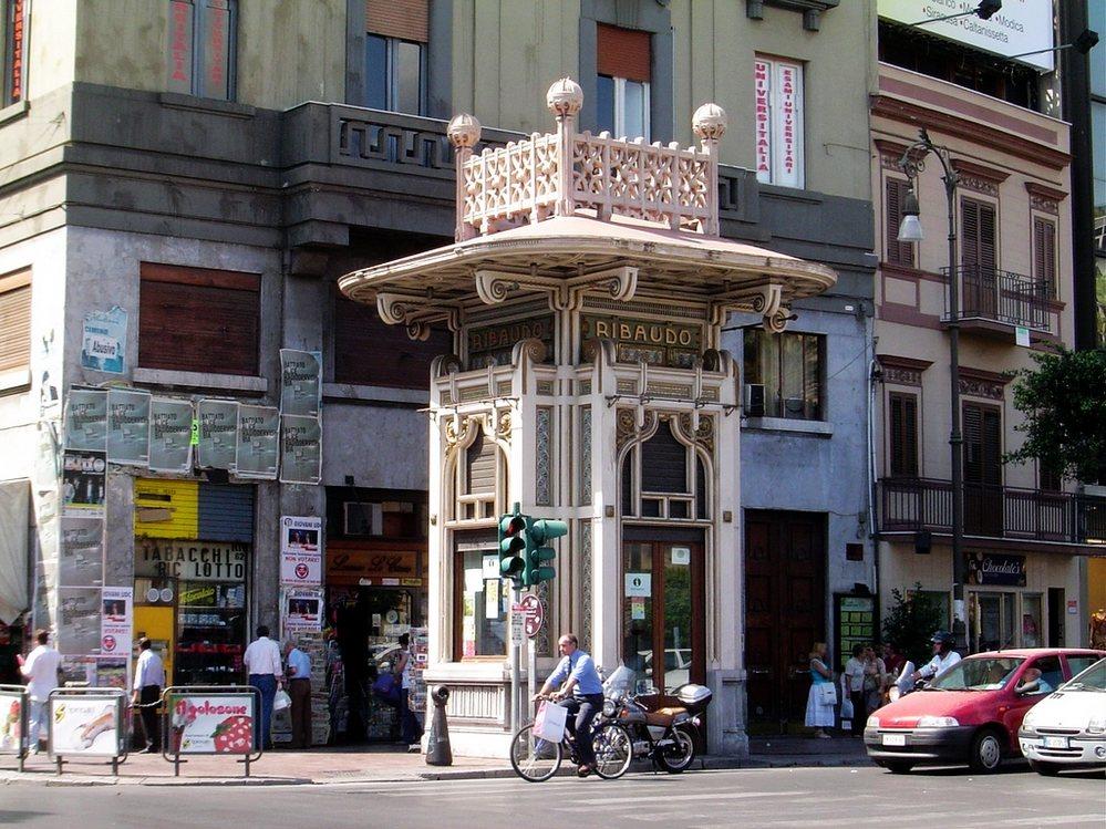 圆珠笔画建筑物